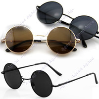 Wholesale 2013 New Arrival fashion Vintage Tortoise Frame Lens Retro Round Sunglasses Eyeglasses Glasses