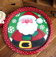 Wholesale Christmas Series Super Meng disc tray compote dish cold dish snack tray snack tray variety of election