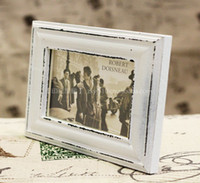 wood photo frame - Very Popular Home Decor inch quot x7 quot Antique White Classical Photo Frame Wood