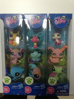 Wholesale Brand new Hasbro Toys Dolls baby doll Hasbro Littlest Pet Shop style mix order in set By ems