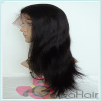 8 Indian Hair Wig,Half Wig Queen Hair Products Cheap Front Lace Wigs with Baby Hair Around 2# Darkest Brown Straight 10''-24'' 120% Density High Quality