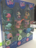 Wholesale 2 inch Baby Hasbro Littlest Pet Shop PVC Action Figure Doll Toys Style Mixed in set