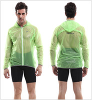 Wholesale Cheap Green Veobike Man Cycling Jackets Polyester Cycling Jackets Waterproof Breathable Comfortable Compressed Anti UV Bike Jackets for Sale
