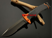 china christmas - China knife bear SURVIVAL SERIES Ultimate knife mm Fixed blade AUS A blade HRC outdoor knives with Fire Starter Christmas gift