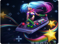 Rubber arcade pad - League of Legends LOL Arcade Sona the Maven of the Strings mouse pad
