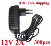 Wholesale High Quality AC V to DC V A Power Adapter Supply V adaptor US EU EU Plug DHL