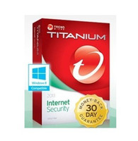 Antivirus & Security Home Windows Trend Micro Titanium Internet Security 2013 1Year 1PC, trend 2013 1 year 1user