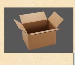 Wholesale Solid single wall corrugated cardboard box postage shipping box B Flute Corrugated Courier Box k3k Postage Box CD Box Cosmetic Box
