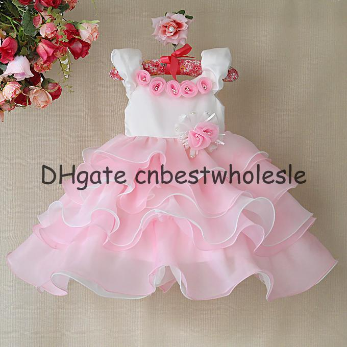 New year christmas baby girls wedding party birthday tutu lace tulle