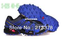 Wholesale Salomon Speedcross Running Shoes Solomon Men Sports Hiking Outdoor Training Athletic Shoes Big US Size EUR