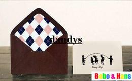 Papelería sobre de papel en Línea-Papelería infantil, Nueva dotación diseños de estilo vintage Papelería & amp ; amp ; conjunto de tarjetas de felicitación / papel / al por mayor, dandys