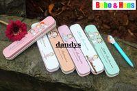 ballet pencil - Children s stationery New fashion ballet girl style Tin Pencil case Pen box Fashion dandys
