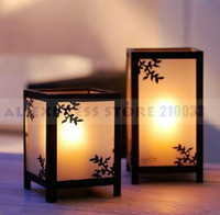 Wholesale Set of Asian Square Lantern for Wedding Decoration Party Stuff Favors Gifts Supplies