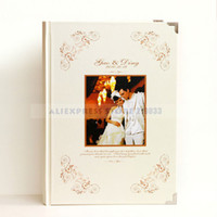 Wholesale Love Theme Customized amp Personalized High Quality Guest book Print Photo For Wedding Ceremony amp Retails