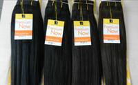 human hair premium now - Premium Now Yaki Human Hair Mixed Synthetic Hair Extension Blended Machine Hair Weaving Hair Weft