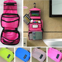 Wholesale Hot Sale Travel Cosmetic Duffel Toiletry Purse Holder Beauty Bag Organizer Cosmetic Bags