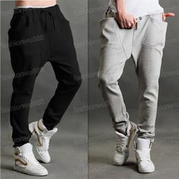 Wholesale Fashion Men s Casual Sports Dance Trousers Baggy Jogging Harem Pants M L XL XXL