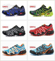 Wholesale New Arrival Salomon SPEEDCROSS Running shoes outdoor shoes waterproof shoes men s cross country shoes SC M Sneakers size
