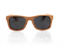 Wholesale handmade nature wood sunglasses bamboo wooden sunglasses wooden sunglasses