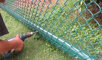 Wholesale pvc coated or hot dipped galvanized chain link fence factory
