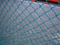 Wholesale lowest price woven mesh fence pvc coated chain link fence protection mesh fence for playground garden zoo building