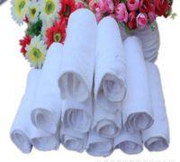 Wholesale 60pcs double layers Antibacterial Bamboo fiber Baby Diaper diaper pad Cloth Diaper Inserts Diaper Liners