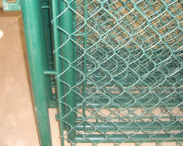 Wholesale Galvanized Chain Link Fence Lowest Chain Link Fences Prices Used Chain Link Fence for Sale GS