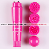 Wholesale multicolor mini AV vibration massager bullet vibrator with head cap sex products XQ