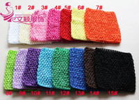 Cheap Children 6 inch knit tops for girls wrapped chest wholesale baby hat hair cap