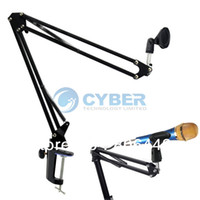 Wholesale Broadcasting Studio Microphone Mic Stand Boom Scissor Suspension Arm Mount Shock TK1051