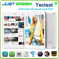Teclast 7.9 inch Quad Core Teclast G18 Mini 3G Quad Core Tablet PC 7.9 inch Android 4.2 1024*768 IPS mini pad GPS Bluetooth WCDMA Phone call dual Camera