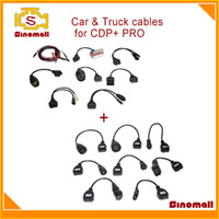 Wholesale Hot sales Full set car amp truck cables for CDP pro scanner
