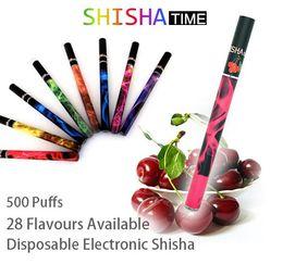 Wholesale Popular E ShiSha Pen Disposable E Cigarette Smoking mAh Pipe Stick Electronic Cigarettes Puffs Milti flavour Factory Sale Directly