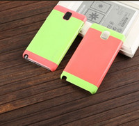 Colorful Armor Plastic Case For Samsung Galaxy Note 3