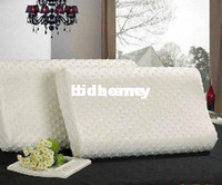 Wholesale Factory directly price massage memory foam pillow zero stress healthy wave neck me memory pillow HG912