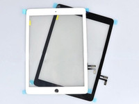 Wholesale For iPad th Air Digitizer Display Touch Panel Glass Black White