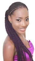 Wholesale XP Kanekalon hair Ultra Braid inch g kinds color from usa canada uk