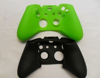 Wholesale free DHL New Soft Silicone Protective Sleeve Case Skin Cover for PlayStation PS4 xbox one Controller