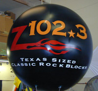 advertise radio - advertising Inflatable air balloons with radio s logo