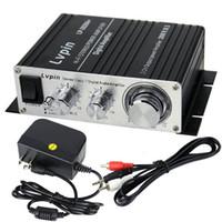 Wholesale Hot Sale W V Mini HiFi Audio Stereo Sound Power Digital Speaker Amplifier For MP3 iPod