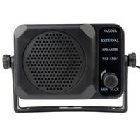 Wholesale New Car CB Radios Mini External Speaker NSP v Ham For ICOM Yaesu Black J0075A