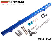 Wholesale EPMAN For Toyota JZ Aluminium Billet Top Feed Injector Fuel Rail Turbo Kit Blue High Quality EP JZYG