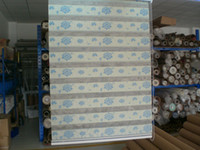 Wholesale Factory outlets polyester customized jacquard blue zebra blinds