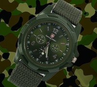 army fabric - 2014 Men s Gemius Army Sports Watch Analog free Watches Alloy dial colors military watches Fabric Strap Hot Sale Casual Men Quartz watch