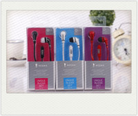 Wholesale High Quality KA Unique In ear Set mm Stereo Earphone with Mic Flat earphone colors with Reatail package for Smarphone iphone