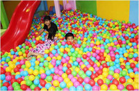 Wholesale Colorful Ball Fun Ball Soft Plastic Ocean Ball Baby Kid Toy Swim Pit Toy Hot Sale New
