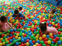 ball pit balls - Colorful Ball Fun Ball Soft Plastic Ocean Ball Baby Kid Toy Swim Pit Toy Hot Sale T90237