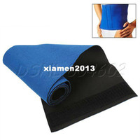 Wholesale New Waist Trimmer Body Wrap Belt Slimming Burn Cellulite tummy Sweat Weight Loss