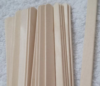 Wholesale 300 Wooden Popsicle Sticks DIY Craft Tool Wooden Spatula Ice Cream Stick size mm Stick for DIY Ice cream