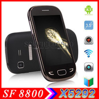 Wholesale S4 Mini G phone HTM X5292 H9500 N7100 inch Multi touch screen Spreadtrum SC7710 GHz MB MB Smartphone G bluetooth GPS